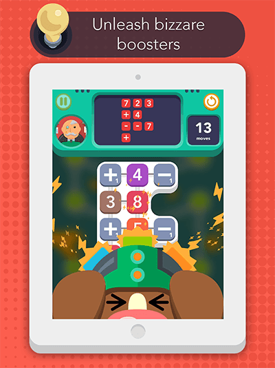 Sum Idea - Free-to-play iOS logic number puzzle - Discover fun and inventive boosters