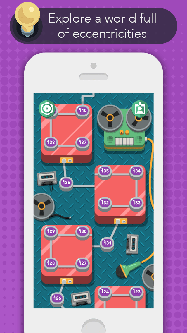 iPhone SUM IDEA - Level Map Screen