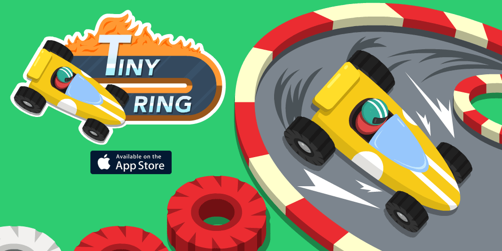 Tiny Ring - The Endless iOS Racing Game - Coming soon for iPhone, iPod touch and iPad